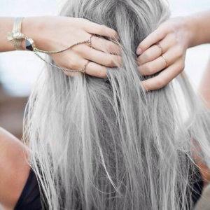 Много седых волос в 30 лет