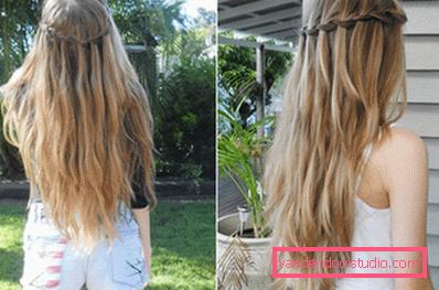 Недостатки технологии омбре для светлых волос