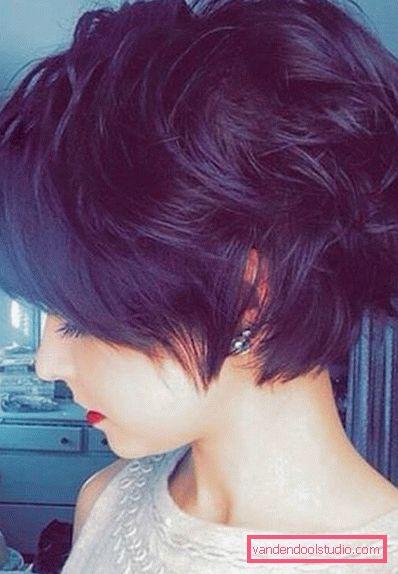 писки волосы темные