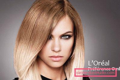Преимущества технологии омбре для блондинок