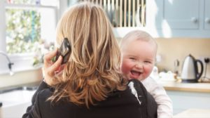 Прически для молодых мам