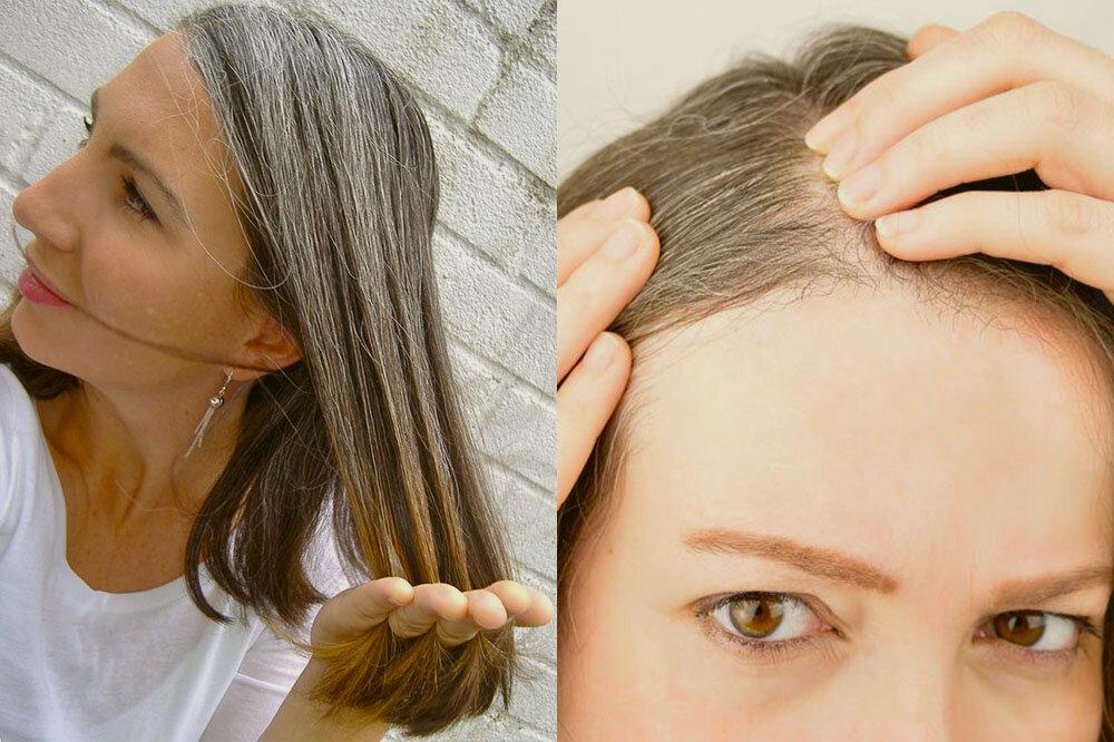 Витамины и продукты для седых волос