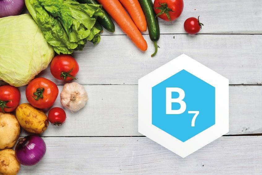 Витамин B7 для волос