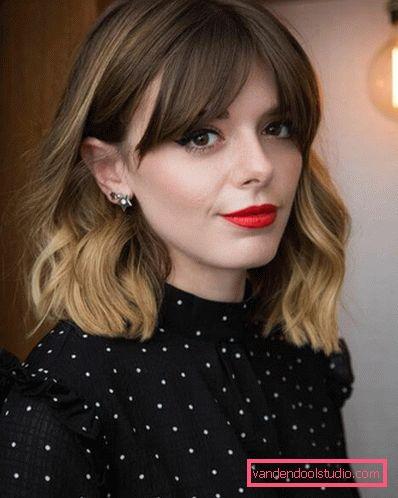 Волны на средние волосы для женщин