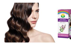 Шалфей для затемнения волос