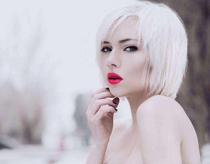 Арктический блонд цвет волос