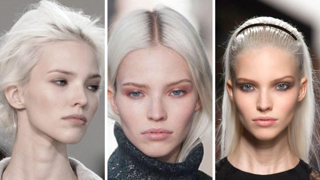 Арктический блонд девушка