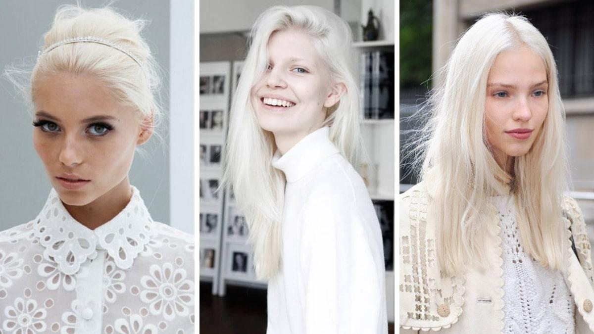 Арктический цвет волос