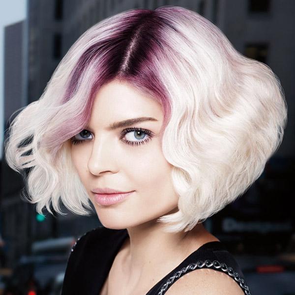 Цветные корни волос