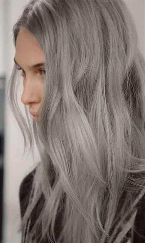 Дымчатые волосы