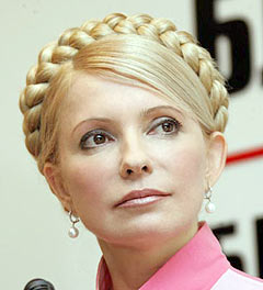 Французская коса Юлии Тимошенко