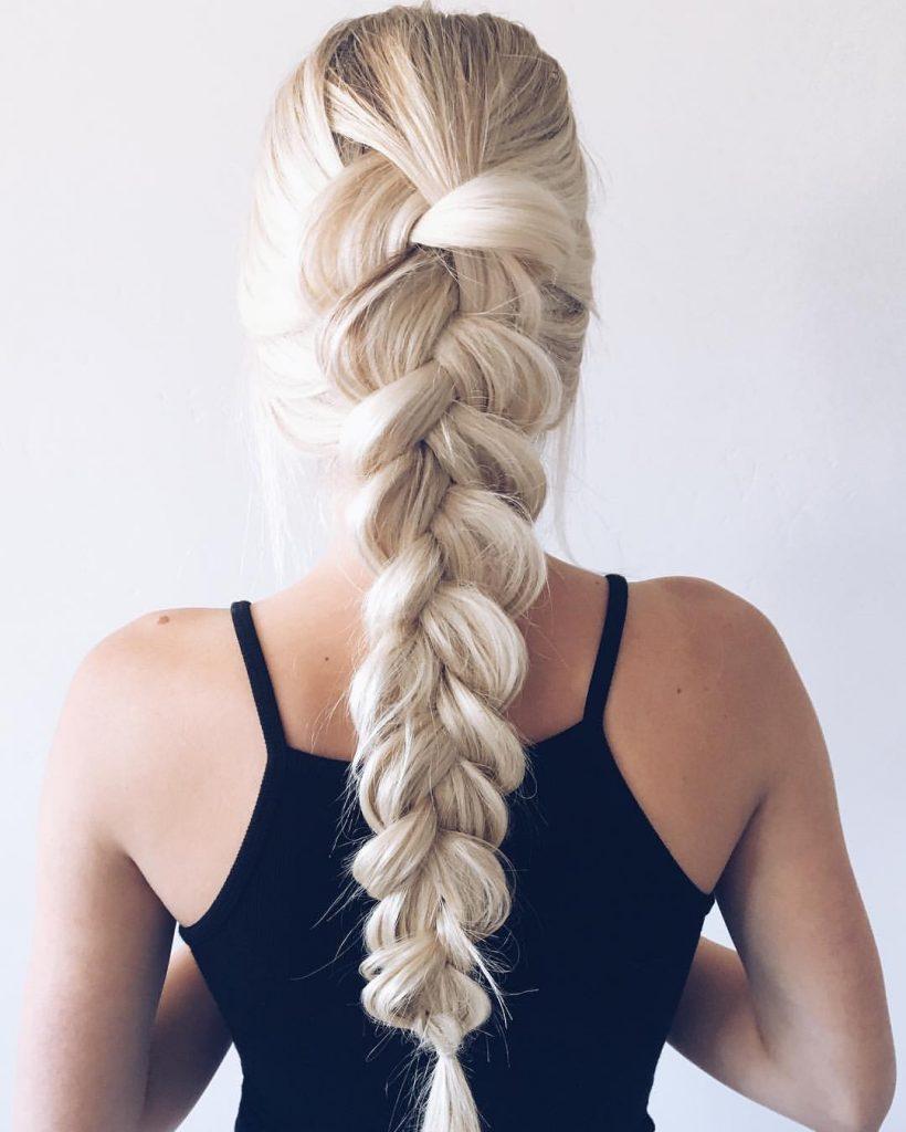 Французские косы красивые