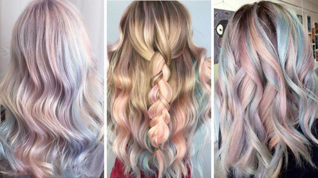 Голографические волосы