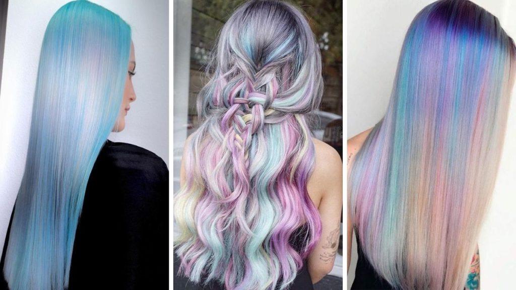 Голографические волосы фото