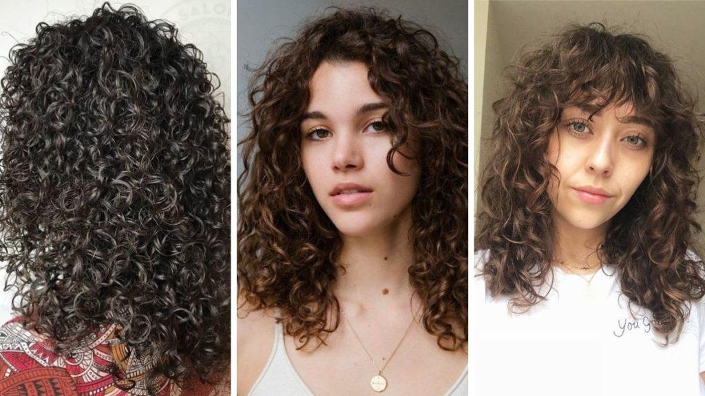 Химическая завивка волос 2021 фото