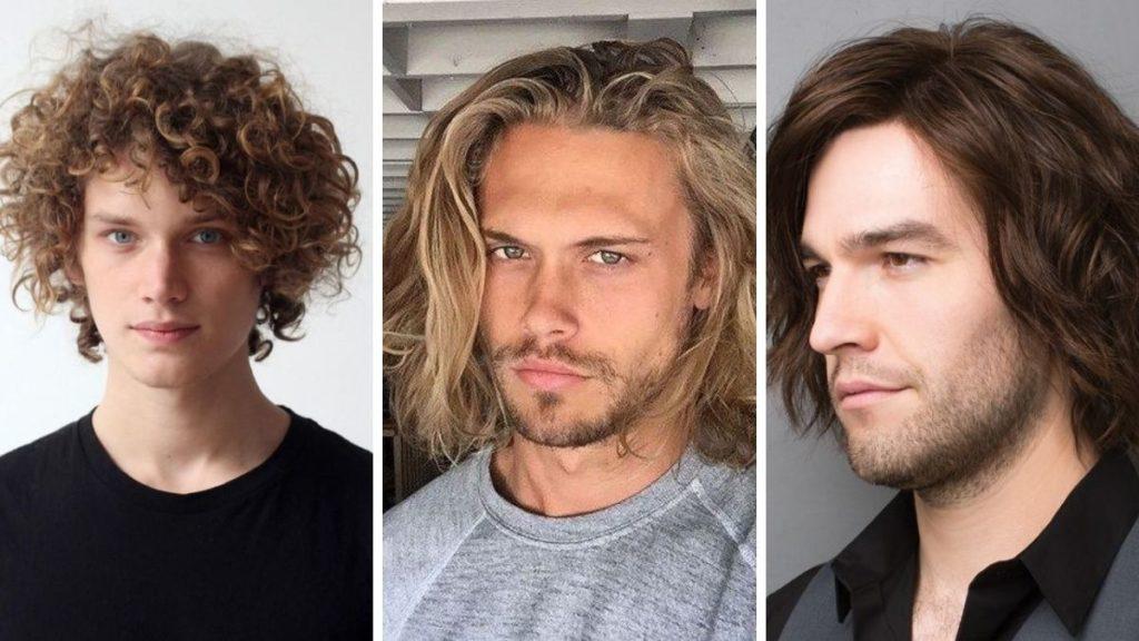 химия волос для мужчин
