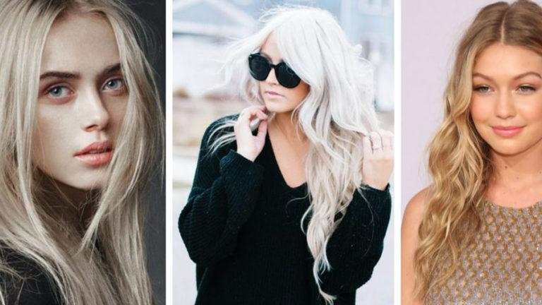 Холодный и теплый блонд