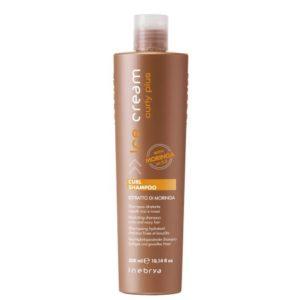 Inebrya Curly Plus, шампунь с маслом моринги