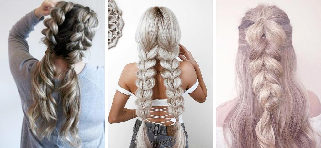 искусственная коса для девушек