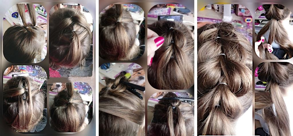 Как вплести искусственную косу