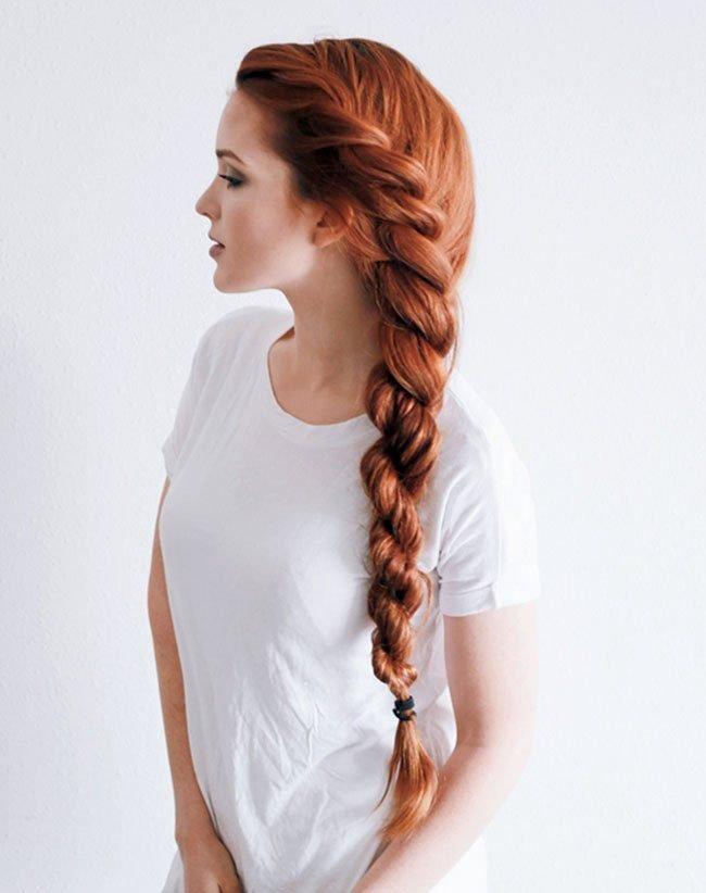 коса летом
