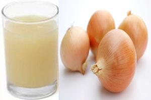 Луковый сок от седых волос рецепт