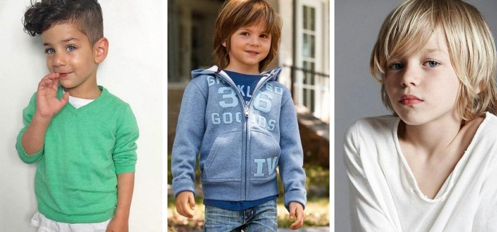 Модные прически для мальчиков с фото
