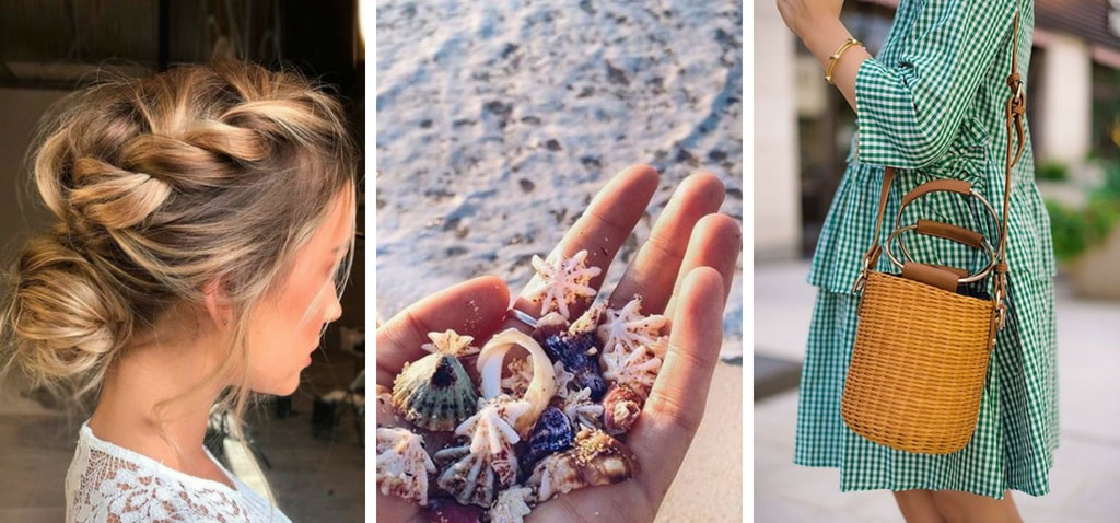 Модные прически с челкой на лето