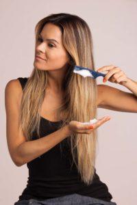 мусс на прямые волосы