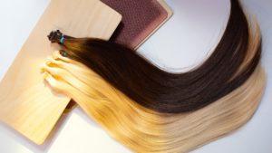 Наращивание волос «кольцами»-