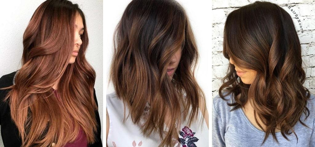 Омолаживающие цвета волосдля брюнеток