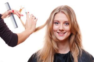 Освежите волосы и прическу