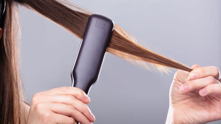 Как работает паровой выпрямитель для волос