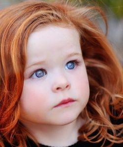 Почему рождаются рыжие дети