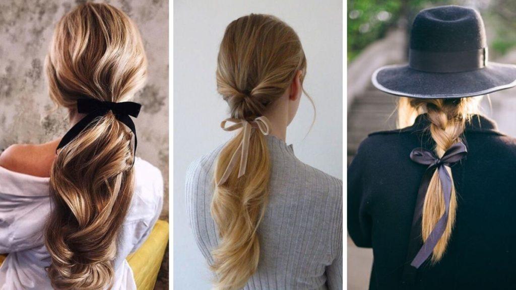 Резинка-бант для волос