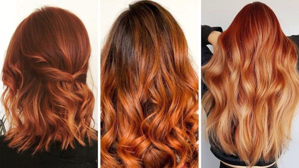 розово-оранжевый цвет волос что это