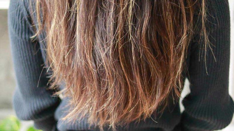 Секущиеся волосы на концах
