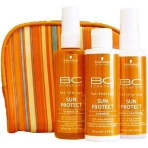 солнцезащитной косметики для волос