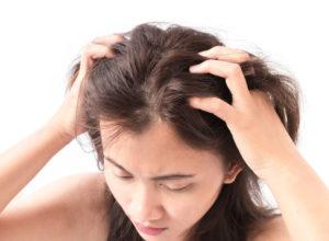 Сухая кожа головы причины