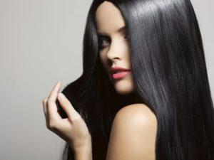 ухаживать за черными волосами крашенными