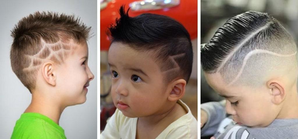 Узоры на волосах прическа для мальчиков