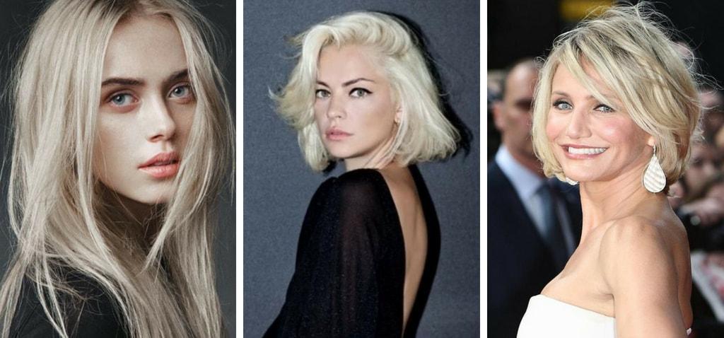 В каких случаях выбирать холодный блонд