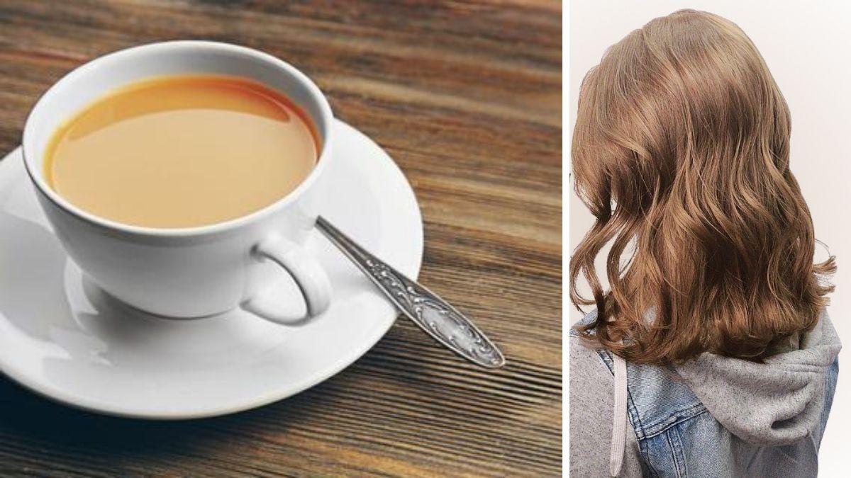 Цвет волос чай с молоком