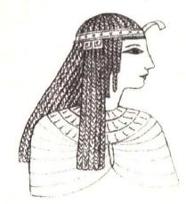 волосы в Древнем Египте
