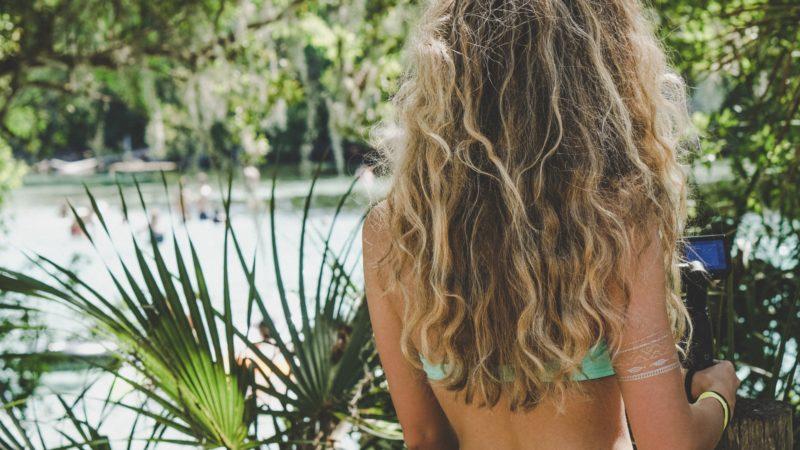 Восстановление волос летом