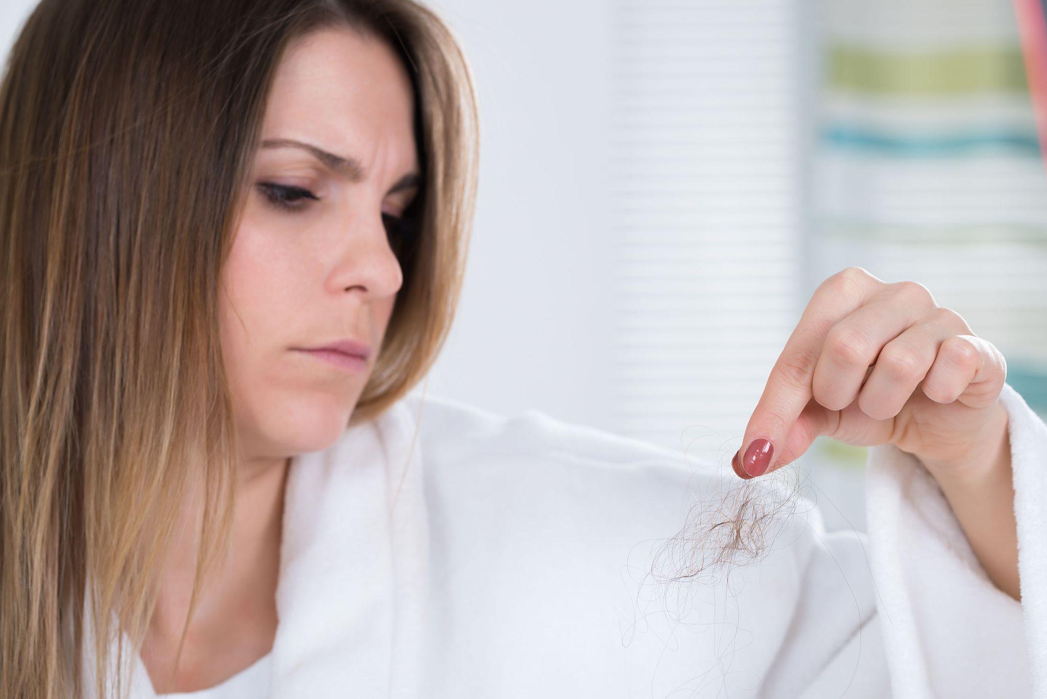 Выпадение волос после похудения