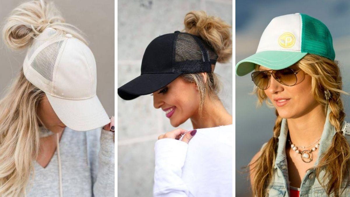 Защита волос в отпуске шляпа