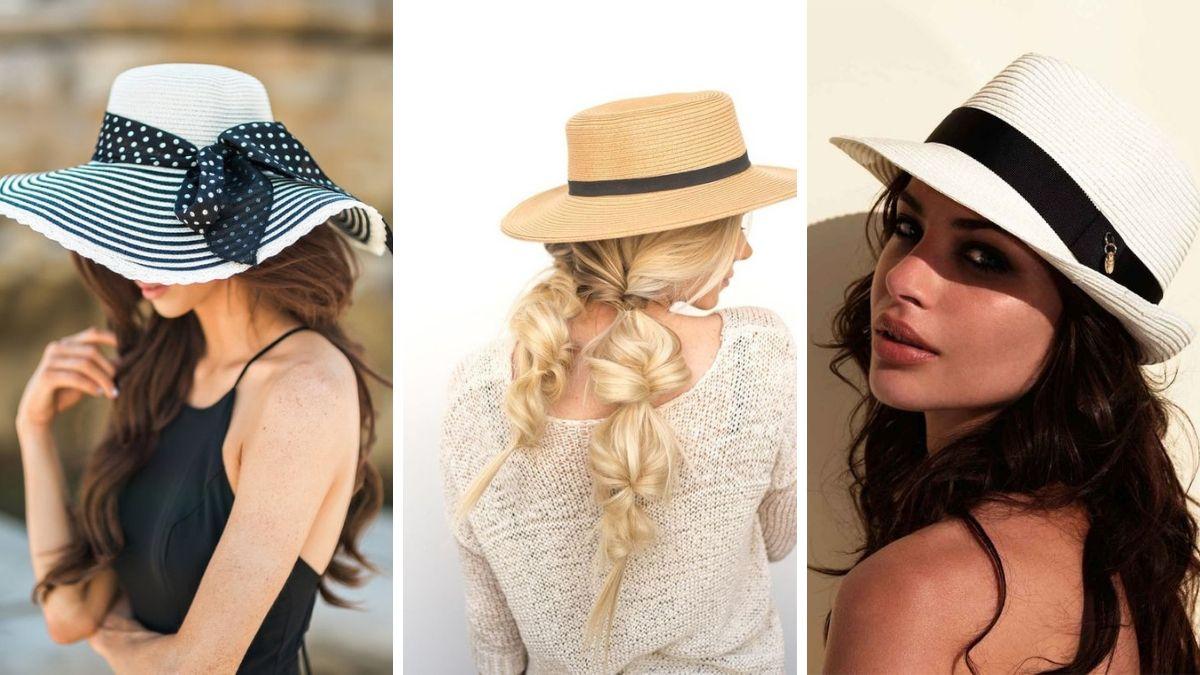 Защита волос в отпуске - шляпа