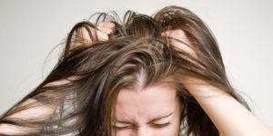 жирных волос