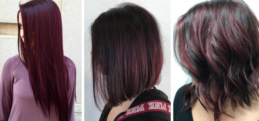 благородный оттенок красных волос